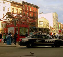 NYPD drive-by by karolina