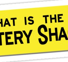 What IS the Mystery Shack? Sticker