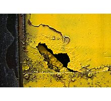 Yellow and Black Photographic Print