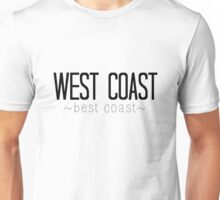 West Coast Best Coast Unisex T-Shirt
