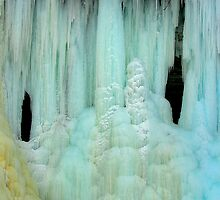 Ice at the Falls by P.T. Robertson
