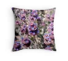 Mojave Violet Throw Pillow