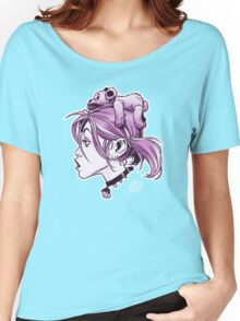 DedTedHed Purple Women's Relaxed Fit T-Shirt