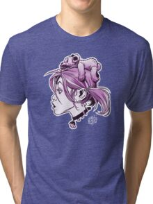 DedTedHed Purple Tri-blend T-Shirt
