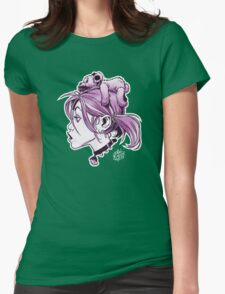 DedTedHed Purple Womens Fitted T-Shirt