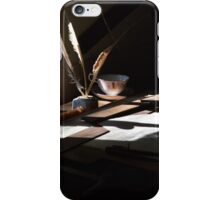 The Writer's Desk iPhone Case/Skin