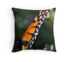 Butterfly Bokeh Throw Pillow