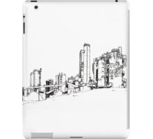 Gas Works Park Pen Sketching iPad Case/Skin