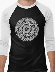 Celtic Pattern 2 (Celts) Men's Baseball ¾ T-Shirt