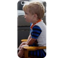 Max watching Thomas the Train iPhone Case/Skin