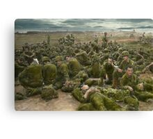 War - A thousand stories Canvas Print