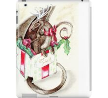 the little red nose dragon iPad Case/Skin