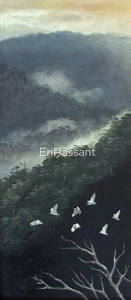 Misty Corellas by EnPassant