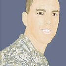 Portrait of Robert Gray, US Army 2007 by Constance