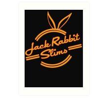 Inspired by Pulp Fiction (Jack Rabbit Slims) Art Print