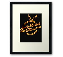 Inspired by Pulp Fiction (Jack Rabbit Slims) Framed Print