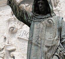 Cola di Rienzo statue, Rome, Italy by buttonpresser