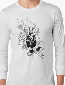 Donnie Darko (White background) Long Sleeve T-Shirt