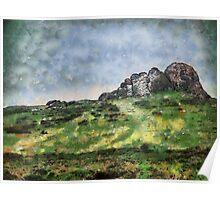 Hay Tor, Dartmoor, Devon, UK Poster