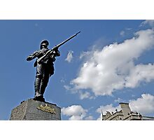 Gloucestershire regiment Boer war memorial, Bristol, UK Photographic Print