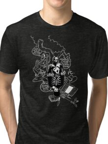 Donnie Darko (Black Background) Tri-blend T-Shirt