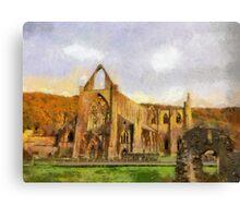 Tintern Abbey, Wales, UK Canvas Print