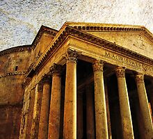 The Pantheon, Rome, Italy by buttonpresser