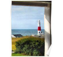 Portland Bill Lighthouse, Dorset, UK Poster