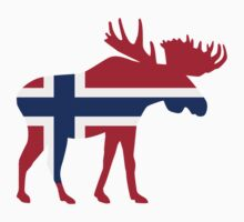 Moose elk norway by Designzz