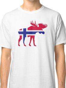 Moose elk norway Classic T-Shirt