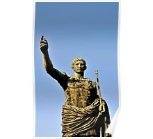 Statue of Augustus, Rome, Italy Poster