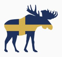 Moose elk Sweden by Designzz