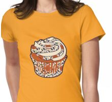 Vintage Cupcake Womens Fitted T-Shirt
