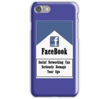 Facebook & The Social Network Ego iPhone Case/Skin