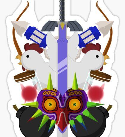 Zelda themed Sticker