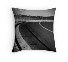 Right hand turn Throw Pillow