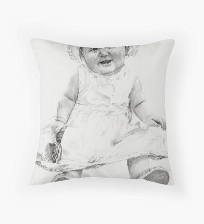 'Mia Grace' Throw Pillow