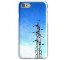 Beautiful blue sky iPhone Case/Skin