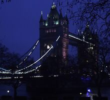 Tower Bridge, London January 2015 by PathfinderMedia