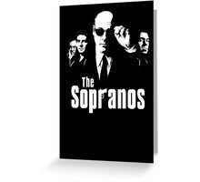 The Sopranos Greeting Card