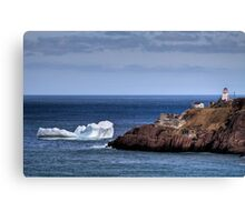 Fort Amherst Berg Canvas Print