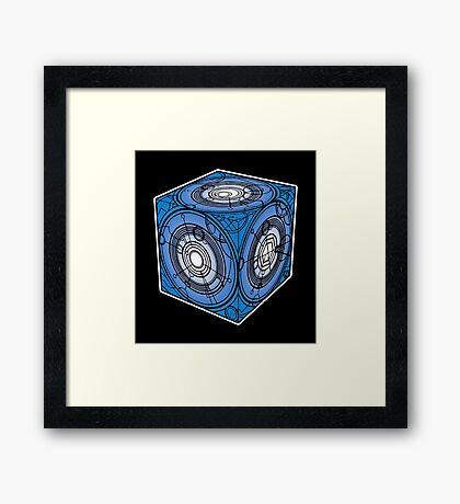"Tardis ""Siege Mod"" Blue - Doctor Who Framed Print"