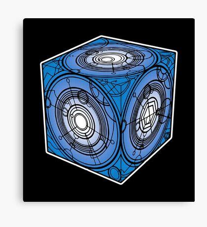 "Tardis ""Siege Mod"" Blue - Doctor Who Canvas Print"