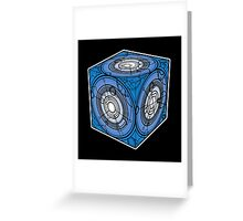 "Tardis ""Siege Mod"" Blue - Doctor Who Greeting Card"