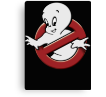 Casper (ghostbusters parody) Canvas Print