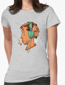 StereoHed Womens Fitted T-Shirt