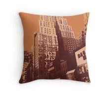 New Yorker, Manhattan New York City Throw Pillow