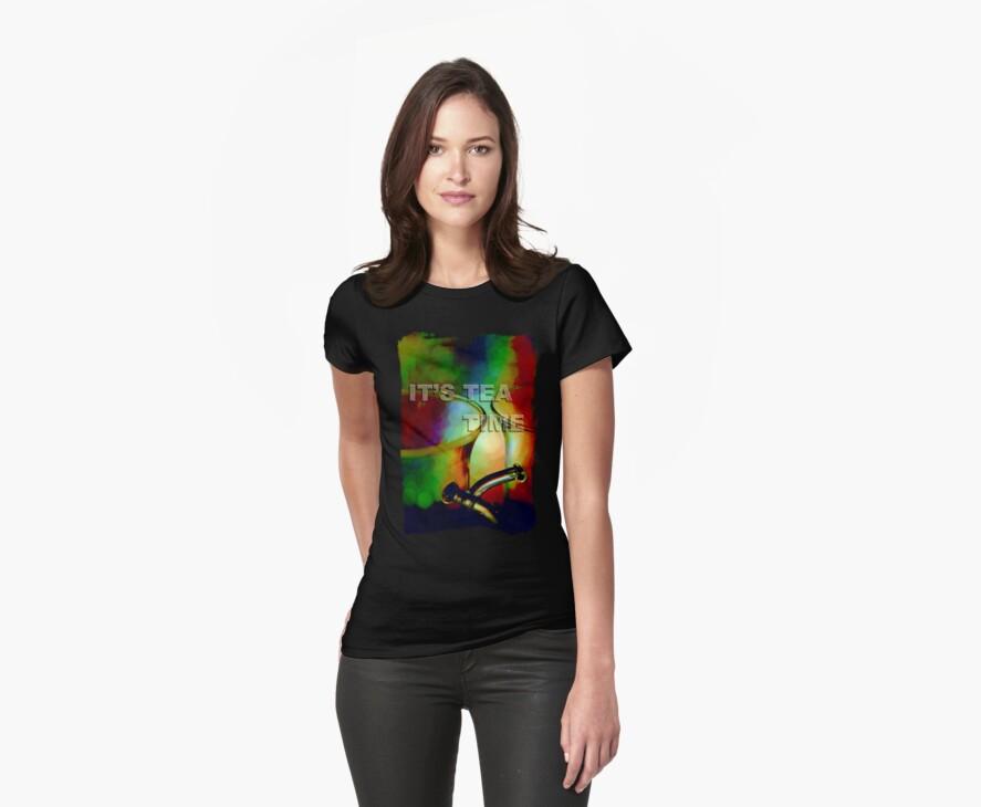 Tea time dreaming (T-Shirt) by Lenka