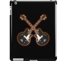 Double black bass guitar iPad Case/Skin