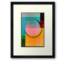 quadratic sphere Framed Print